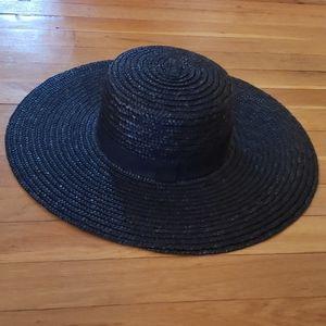 Forever 21 Wide Brim Straw Hat